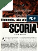 Spazzatura Elettronica - Telefonini e Scoria