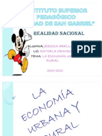 La Economia Urbana y Rural