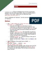 4 - Exercices HTML Liens Internes Et Externes