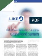 MVO & Social Media door Adrieke de Kraker van Servision