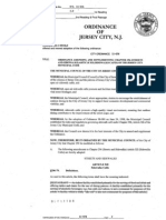 Proposed Change to Jersey City's Sidewalk Cafe Law