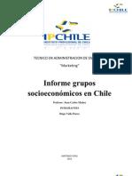 Grupos Socioeconomicos en Chile