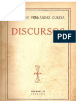 Discursos Raimundo Fernandez Cuesta 1939