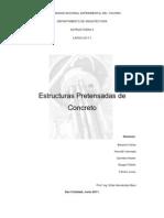 Informe Estructuras as de Concreto