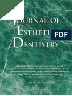 Journal Esthetic Dentistry 2000