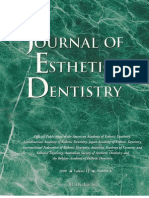 Journal Esthetic Dentistry 2000
