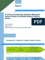 Malay vs GCC Islamic Banks