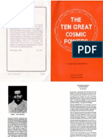 Shankaranarayanan - The Ten Great Cosmic Powers