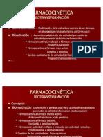 Farmacocinética - Biotransformac ión