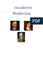 Pensadores                Modernos