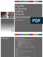 Guide Local Procurement