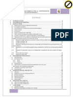 91. Ficha Ambiental Definitiva y PMA para la construcción de Unidades Básicas Sanitarias en el cantón Espíndola