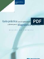 Guía práctica para la implementación de pruebas diagnostico del VIH