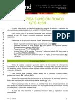 070322 Guia Rapida Roads GTS105N