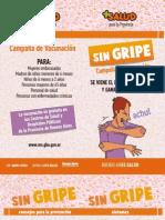 Campaña Contra la Gripe 2011
