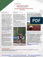 Primož Kozmus - newsletter, june 2011