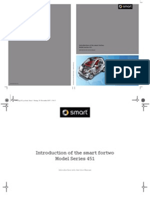 2008 Smart Fortwo Tech Manual Fuel Injection Technology Engineering