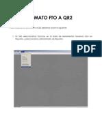Cambio de Formato Fto a Qr2