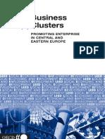 Business Clusters - Promoting Enterprise