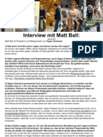 Interview mit Matt Ball DEUTSCH