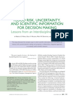 Flood Risk Uncertainty BAMS 2005