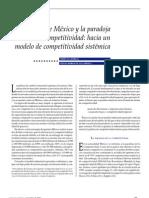 La apertura de méxico y la paradoja de la competitividad