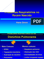 Problemas respiratórios do RN