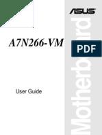 Asus A7N266-VM Motherboard Manual