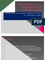 rio de 16 Factores de La Personal Id Ad