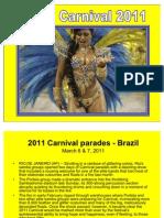 Carnaval de Brasil 2011