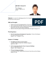 Sample Resume For Ojt Student