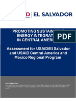 Promoting Sustainable Energy Integration in Central America - Report USAID
