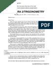 Algebra II/Trigonometry Regents exam