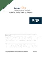 Social Policy Design