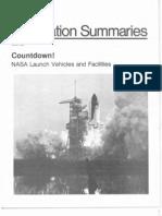 Countdown NASA Lauch Vehicles and Facilities 1987