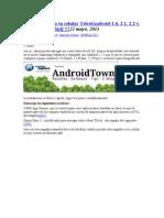 Ternet Gratis en Tu Celular Telcel Android 1