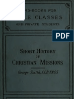 Short History Xtian Mission_George Smith