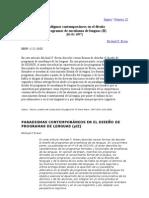 Paradigmas contemporáneos en el diseño de programas de enseñanza de lenguas II