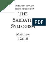 Sabbath Syllogism 2006