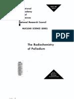 The Radio Chemistry of Palladium.us AEC