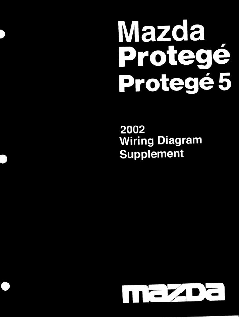 Mazda Protege 2003 Wiring Diagram Supplement | Wiring Diagram For 2003 Mazda Protege |  | Scribd