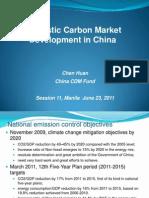 Huan Chen - Domestic CM Development in China