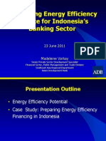 Madeleine Varkay - Developing EE Finance for Indonesia