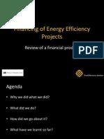 Sanjoy Sanyal - Financing of EE Projects