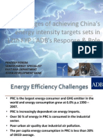 Pradeep Perera - Challenges of Achieving Chinas Energy Intensity Targets