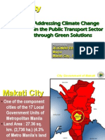 Ernesto Camarillo - Addressing Climate Change in the Public Transport Sector Through Green Solutions