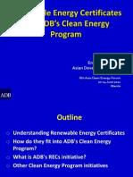 Aiming Zhou - RECs and ADBs Clean Energy Program