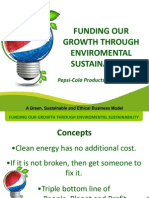 Gabinete Reyes Redentor - Funding Our Growth Through Environmental Sustainability