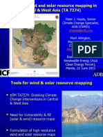 Mark Allington + Peter Hayes - GIS Based Wind and Solar Resource Mapping