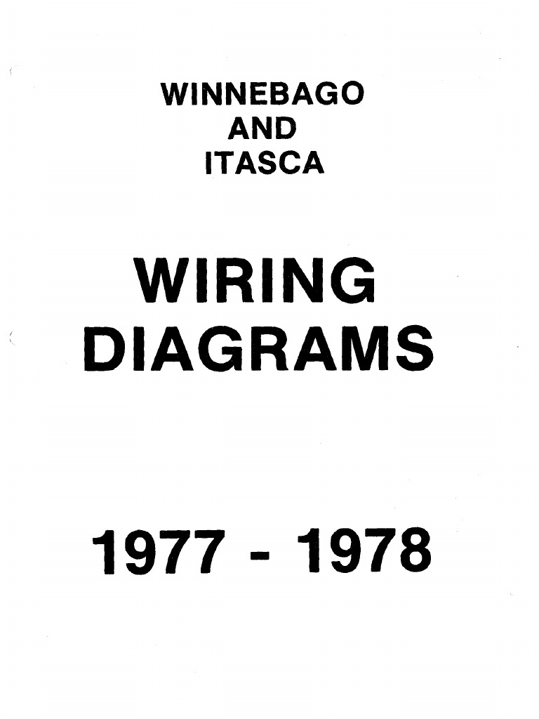 1977-78 Wiring Diagram Book